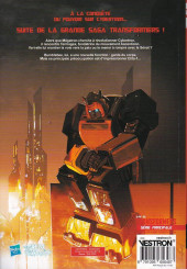 Verso de Transformers -INT02- Volume 2