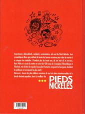 Verso de Pieds Nickelés (Le meilleur des) -1- Menteurs, voleurs, bagarreurs... de vrais professionnels !
