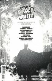 Verso de Batman Black and White (DC Comics - 2021) -2- Issue # 2