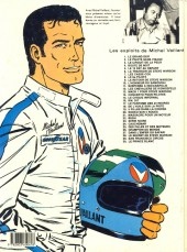 Verso de Michel Vaillant -18e1984- De l'huile sur la piste !