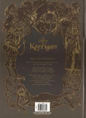 Verso de Les contes du Korrigan -5a- Livre cinquième : L'Île d'Émeraude