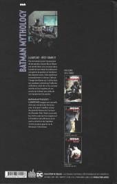 Verso de Batman Mythology -1- La Batcave