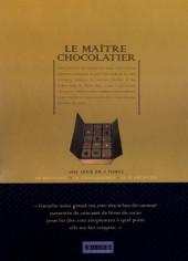 Verso de Le maître chocolatier -3- La plantation