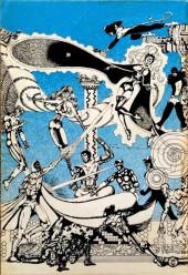 Verso de The fantaco Chronicles Series (1981-1982) -1- The X-Men Chronicles