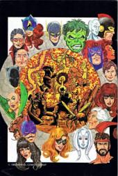 Verso de FantaCo's Chronicles Series (1981) -4- The History of the Avengers
