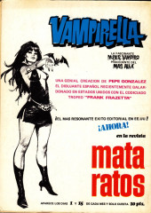 Verso de Dossier Negro -17- El gato negro