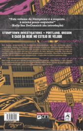 Verso de Stumptown (en portugais) -2- Volume Dois