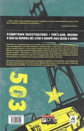 Verso de Stumptown (en portugais) -1- Volume 1