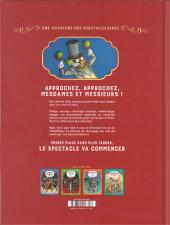 Verso de Spectaculaires (Une aventure des) -5- Les Spectaculaires contre les Brigades du Pitre