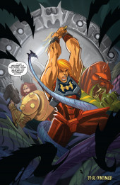 Verso de He-Man and the Masters of the Universe (2013) -9- What Lies Within, Part 3
