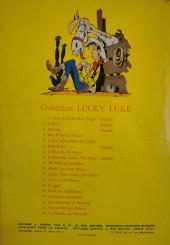 Verso de Lucky Luke -12a1962- Les Cousins Dalton