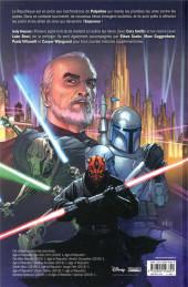 Verso de Star Wars - L'ère de la République -INT- L'ère de la république