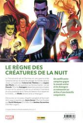 Verso de Avengers (100% Marvel - 2020) -3- La guerre des vampires