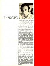 Verso de Dossier Negro -HS06- Número especial Esteban Maroto