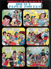 Verso de Crazy magazine (Marvel comics - 1973) -8- Special law 'n order