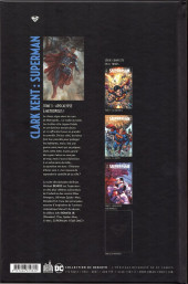 Verso de Clark Kent : Superman -5- Apocalypse à Metropolis !