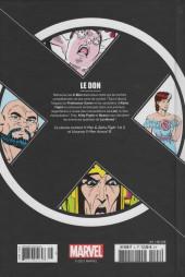 Verso de X-Men - La Collection Mutante -821- Le don