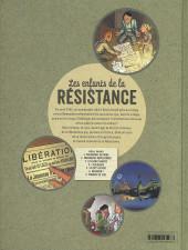 Verso de Les enfants de la Résistance -7- Tombés du ciel