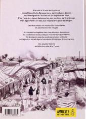 Verso de Chez nous... paroles de réfugiés