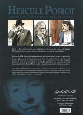 Verso de Hercule Poirot (en portugais) -1- Crime no Expresso do Oriente