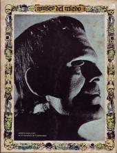 Verso de Dossier Negro -42- La inmunda casita de Vudú