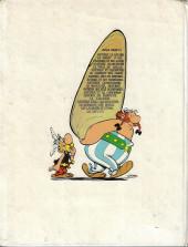 Verso de Astérix -15a1973- La zizanie