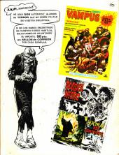 Verso de Dossier Negro -46- El pantano del horror