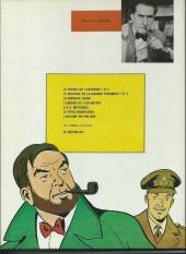 Verso de Blake et Mortimer (Les aventures de) (Historique) -8c1972- Le Piège diabolique