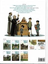 Verso de La guerre des Lulus -1a2019- 1914 - La Maison des enfants trouvés