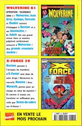 Verso de Wolverine (Marvel France 1re série) (1997) -60- Flashback