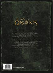 Verso de Les druides -1a2006- Le Mystère des Oghams