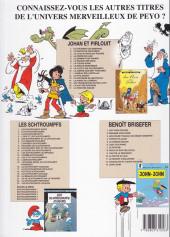 Verso de Johan et Pirlouit -14a2005- La horde du corbeau