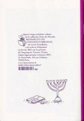 Verso de Richard (Trondheim) -2- Richard et les enfants d'Abraham