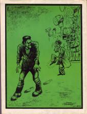 Verso de Dossier Negro -67- La saga del monstruo de Frankenstein