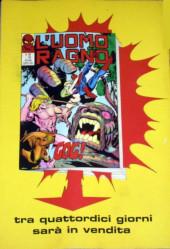 Verso de L'uomo Ragno V1 (Editoriale Corno - 1970)  -103- L'Attacco del Vampiro