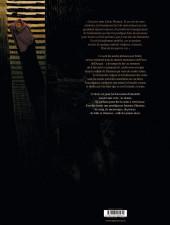 Verso de Le moine mort -1- Le manuscrit condamné