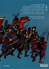 Verso de Le clan des Otori -1- Le Silence du rossignol