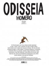 Verso de Clássicos da Literatura em BD -3- Odisseia