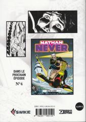Verso de Nathan Never (Editions Swikie) -3- Opération Dragon