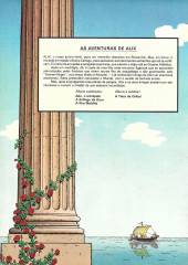 Verso de Alix (en portugais) -3- A ilha maldita