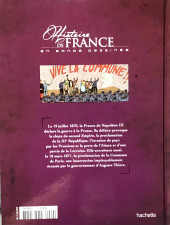 Verso de Histoire de France en bande dessinée -44- La Commune de Paris la semaine sanglante 18 mars-28 mai 1871