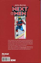 Verso de Next Men (John Byrne's) -2- Volume 2