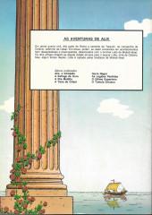 Verso de Alix (en portugais) -8- O túmulo etrusco