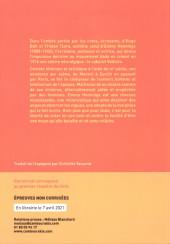 Verso de L'ange Dada -Extrait- Heurs et malheurs d'Emmy Hennings