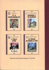 Verso de Radock I - Les aventures de Finfin - L'Anvers du double