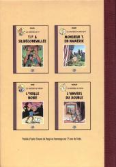 Verso de Radock I - Les aventures de Taratatin - Le trésor de Radin le vert