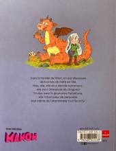 Verso de Moün, dresseuse de dragons -1- Bienvenue au Clos des dragons !