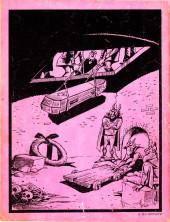 Verso de Dossier Negro -84- Las manos del destino