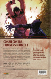 Verso de Conan : La couronne du serpent - Conan - Bataille pour la couronne du serpent