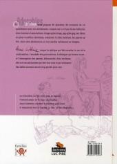 Verso de Adorables -1- L'important, c'est le dialogue